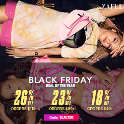 Black Friday Sale for Zaful