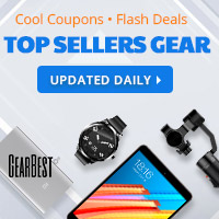 Gearbest Top Sellers Gear: Enjoy huge discounts with coupons and deals! promotion