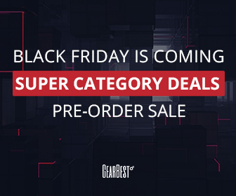 Gearbest Black Friday- Save $15 OFF $50 promotion