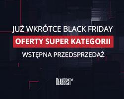 Gearbest Wyprzedaż Black Friday już wkrótce promotion