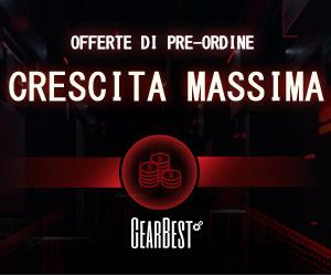Gearbest Black Friday: dal 14 al 26 novembre, vieni a GearBest! promotion