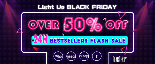 Gearbest Black Friday Deal: Up to 50% OFF promotion