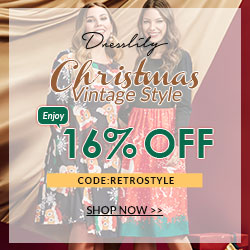Christmas  Vintage Style Enjoy 16% OFF CODE:RETROSTYLE SHOP NOW promotion