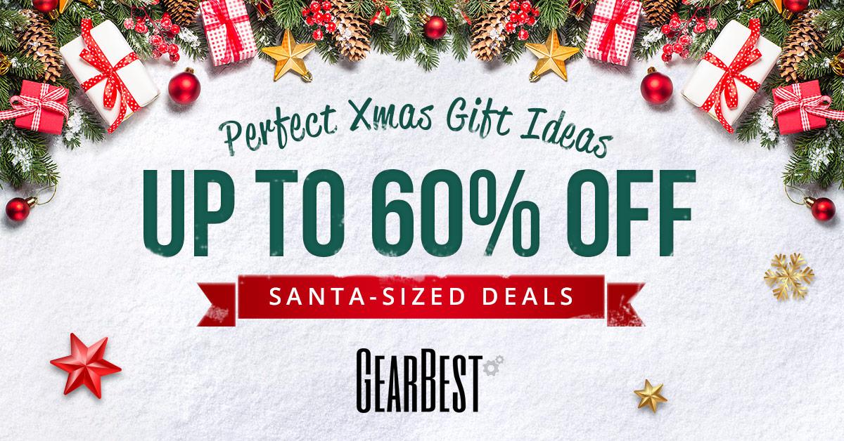 Gearbest Offerte Natale: Sconto fino al 60%! promotion