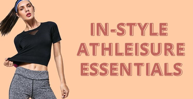STYLE YOUR ACTIVEWEAR WITH US promotion