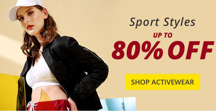 Sport Styles Sale promotion
