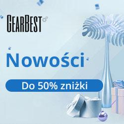 Gearbest Nowości do 50% zniżki promotion