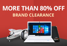 Gearbest Brand Clearance: Extreme Deals More Than 80% OFF promotion