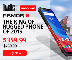 Gearbest New Product Release $359.99 for Ulefone Armor 6 4G Phablet  promotion