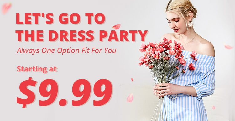 Dresses Party promotion