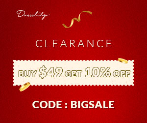 CLEARANCE  BUY $49 GET 10% OFF   CODE: BIGSALE promotion