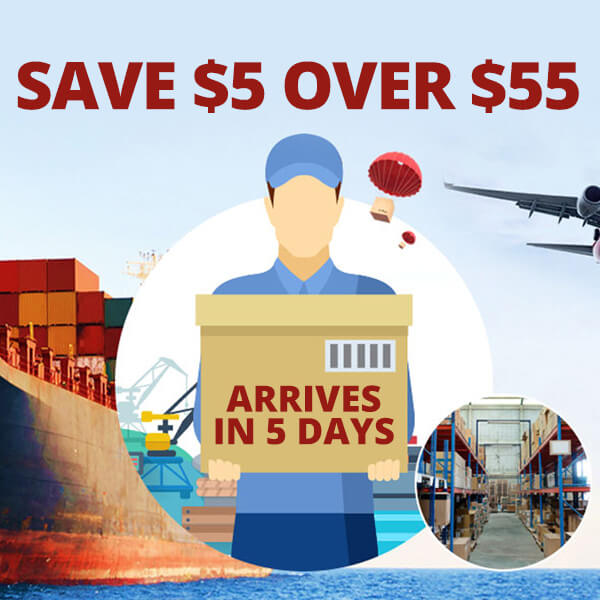 Gearbest Save $5 Over $55- Oversea Warehouse promotion