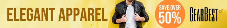 Gearbest Elegant Apparel: Enjoy More Than 50% OFF promotion