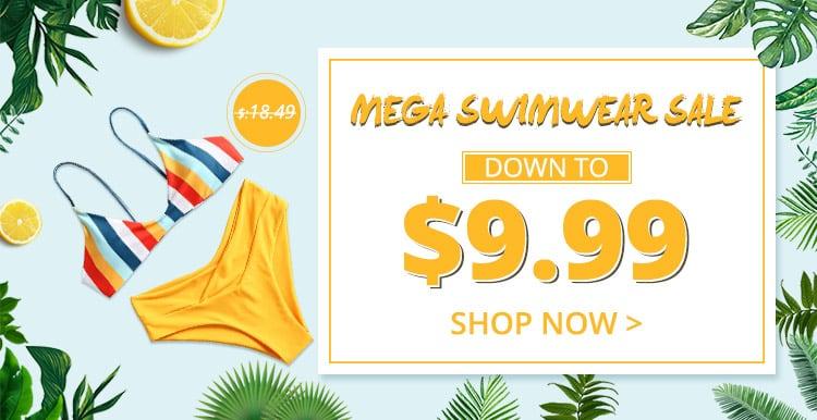 Mega Swimwear Sale promotion