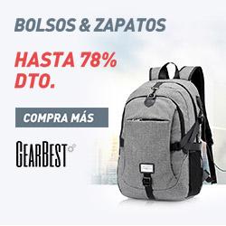 Gearbest Hasta 78% de DTO. para Bolsos & Zapatos. promotion