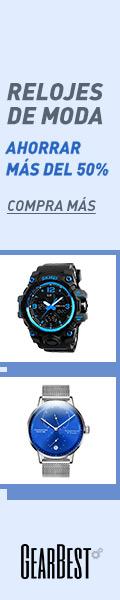 Gearbest Relojes de moda: ahorrar más del 50%. promotion