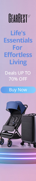 Gearbest Life Essentials Gadgets:Deals Up to 70% OFF promotion