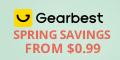Gearbest Super economia de primavera a partir de $ 0.99 promotion