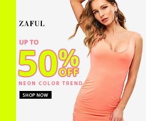 Neon Color Trend promotion
