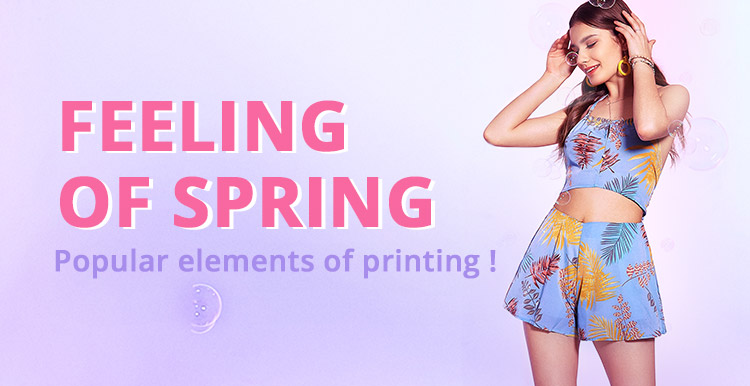 Spring Fashion Trend promotion