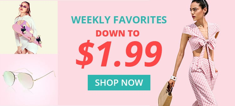 Weekly Favorites promotion