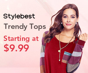 Gearbest Highlights Of The Season: Trendy Tops Starting @$9.99 promotion