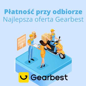 Płatność przy odbiorze w całej Polsce!! from Gearbest