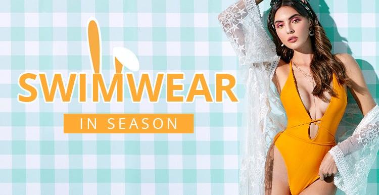 Swimwear In Season promotion