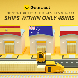 Gearbest Fast Shipping Collection: Ship within 48 HRS! promotion