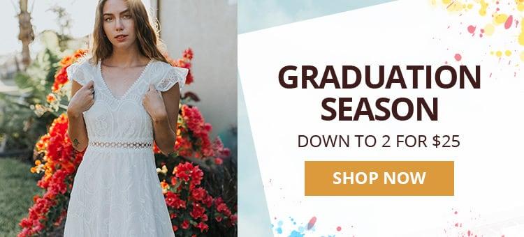Happy Graduation Season promotion
