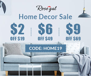 CODE: HOME19 $2 Off $19,$6 Off $49,$9 Off $69 Home Decor Sale promotion