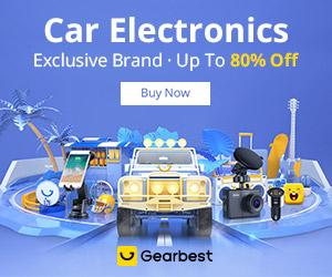 Gearbest Até 80% de desconto: Acessórios para o carro