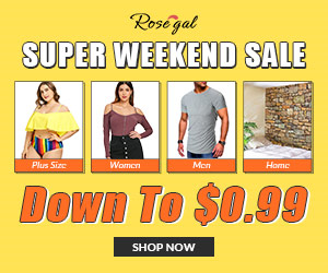 Super Weekend Sale promotion
