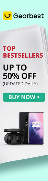 Gearbest Top Bestselling Gears: Up to 50% OFF+Massive Daily Coupons promotion