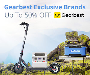 Gearbest Gearbest Marques Exclusives Jusqu'à 50% de réduction promotion