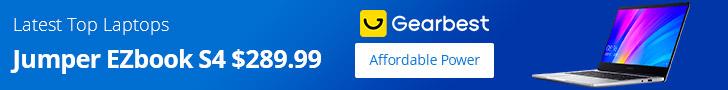 Gearbest Latest Top Laptops Deals promotion