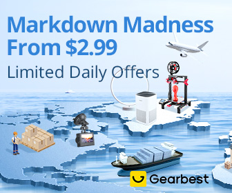 Gearbest Markdown Madness From $2.99 promotion