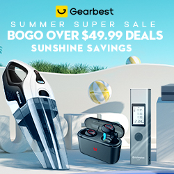 Gearbest Summer Super Sale: Bog Over $49.99 Deals promotion