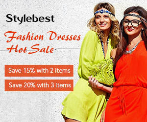 Gearbest Fashion Dresses Hot Sale: 20% OFF 2 Items promotion
