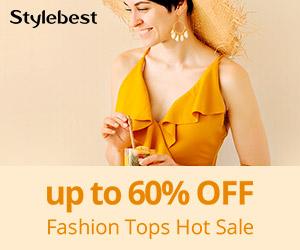 Gearbest Até 60% de Desconto: Topos de Moda promotion