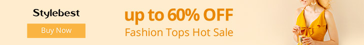 Gearbest Fashion Top Hot Sale: Up to 60% OFF promotion