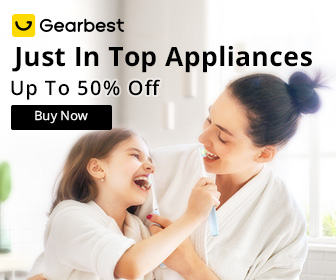 Gearbest Top Appliance: Up to 50% OFF promotion