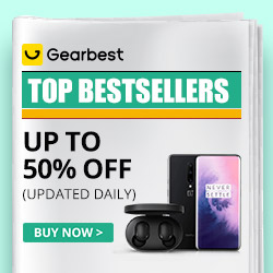 Gearbest Cool Coupon & Flash sales: up to 50%OFF promotion