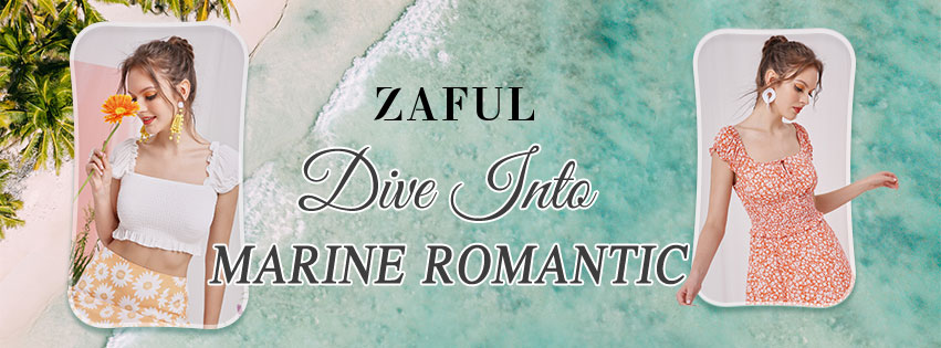Dive into Marine Romantic promotion