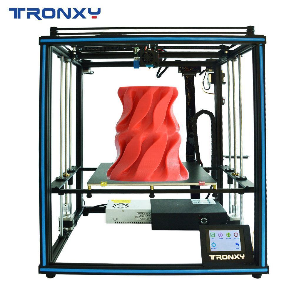 Gearbest Tronxy Factory Price Desktop Educational Home Use X5SA Industrial Core XYZ 3D Printer - X5SA 24v UK promotion