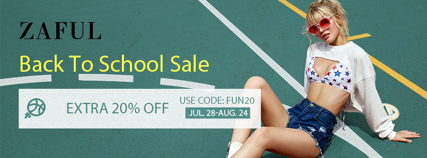 Back To School Sale promotion