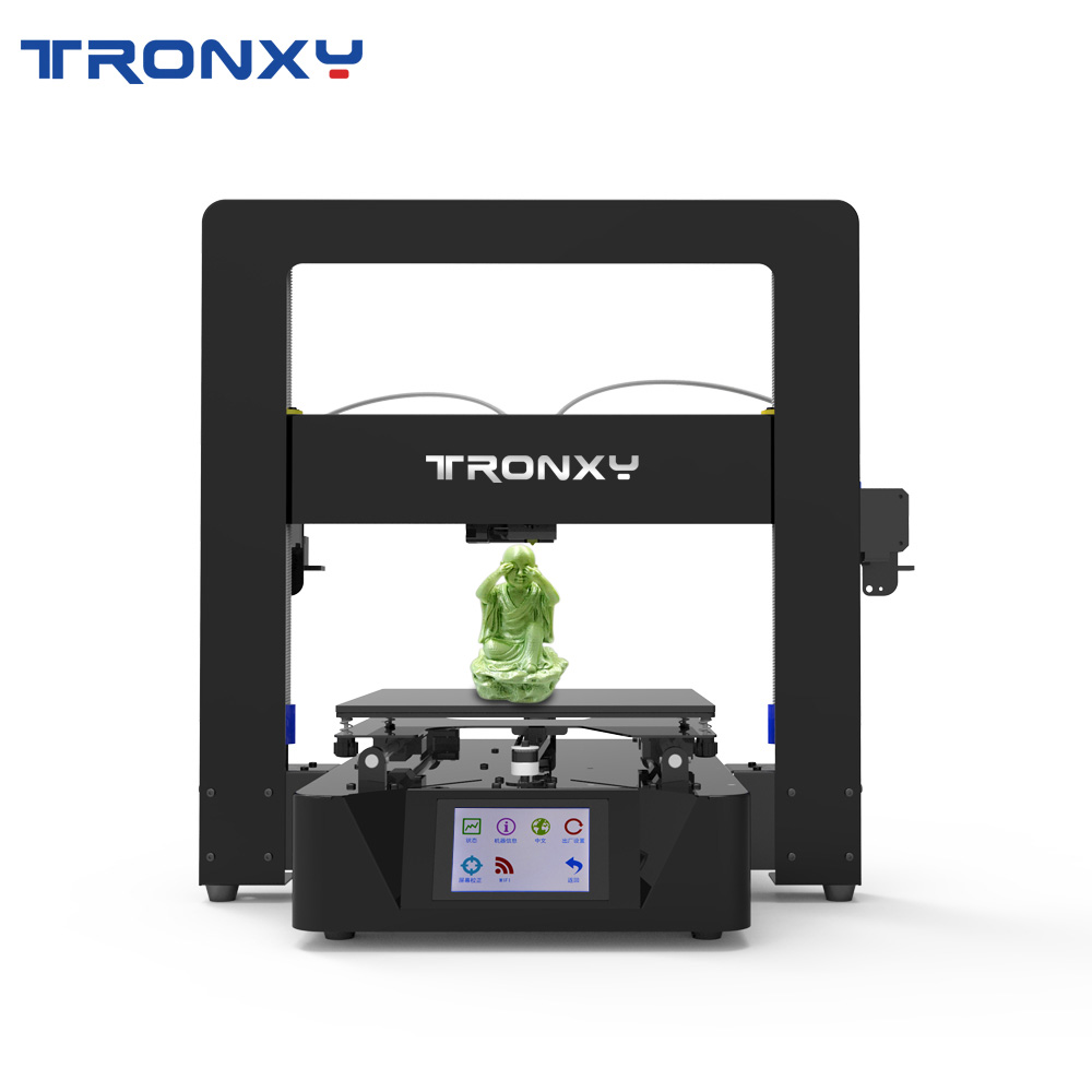 Gearbest Tronxy 3D Printer X6-2E Full Metal Touch Screen Double Extruder Motor 3d printing Hotbed - X6 2E promotion