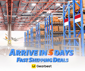 Gearbest Fast Shipping Best Deals -Arrival in 5 days !! promotion