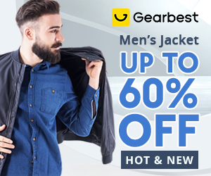 Gearbest Men's Jacket & Coat Promotion promotion