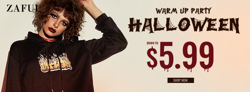 Halloween Sale promotion